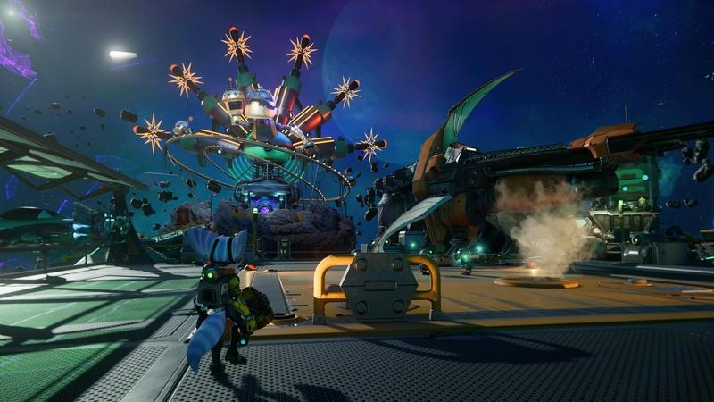 Ривет в космическом баре в Ratchet and Clank: Rift Apart