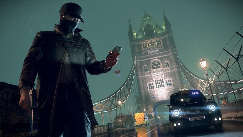 Кадр из игры Watch Dogs