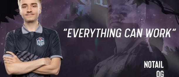 На каком The International n0tail сказал легендарную фразу «Everything can work», которая потом стала мемом в комьюнити?