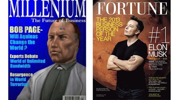 Боб Пейдж и Илон Маск | Источник: kotaku.com