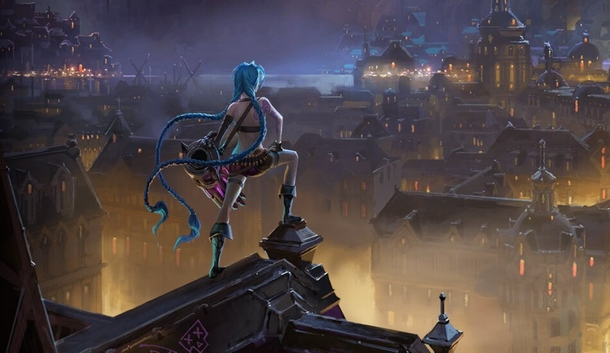 Jinx из League of Legends и Legends of Runeterra. Арт: Riot Games