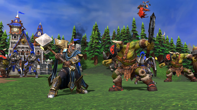 Warcraft III: Reforged. Источник: stopgame.ru