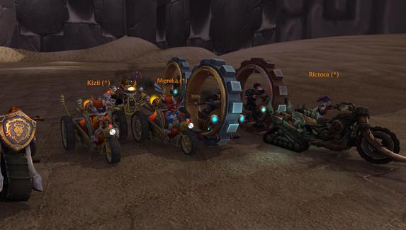 Игроки в World of Warcraft организовали гоночный турнир в духе пошаговой стратегии
