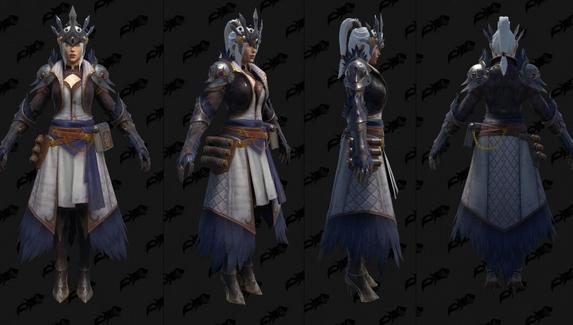 Датамайнеры показали комплекты экипировки из Diablo Immortal