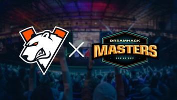 Virtus.pro сыграет на DreamHack Masters Spring 2021