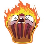 Flaming Muffin
