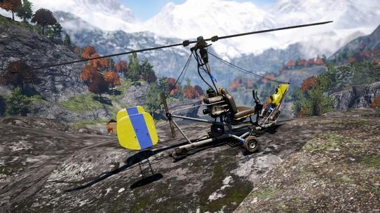 Гирокоптер — один из самых редких видов транспорта в играх. Но он гораздо интересней, чем вам кажется