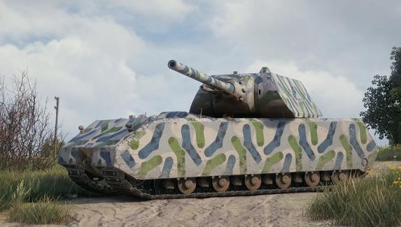 В World of Tanks добавили камуфляж из носков в честь 23 Февраля
