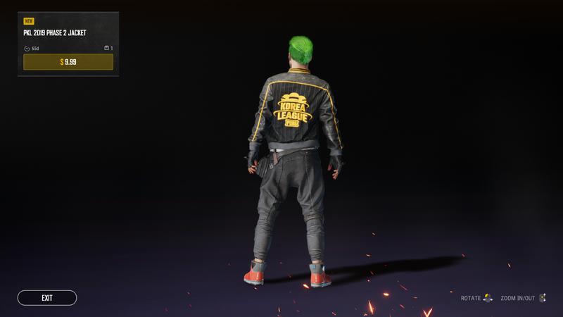 Куртка PUBG Korea League