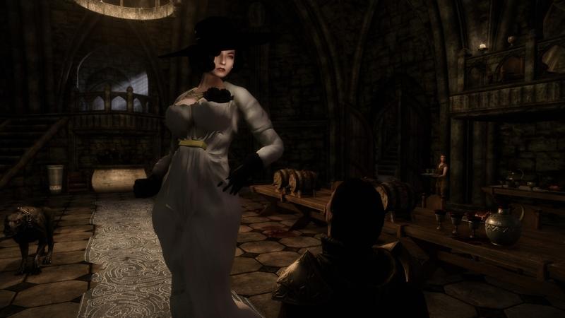 Леди Димитреску в Skyrim