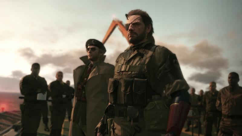 Кадр из Metal Gear Solid V: The Phantom Pain