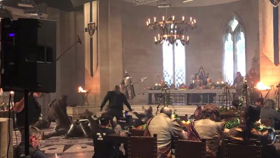 Создатели «Ведьмака» показали, как снимали сцены с падениями, огнем и взрывами