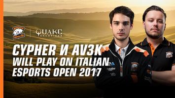 Cypher and Av3k will play on Italian Esports Open 2017