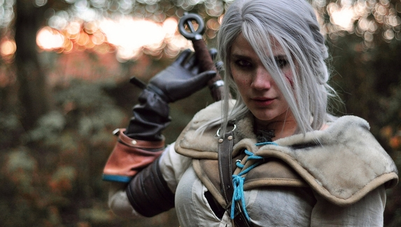 Интересный косплей на Цири из The Witcher3: Wild Hunt
