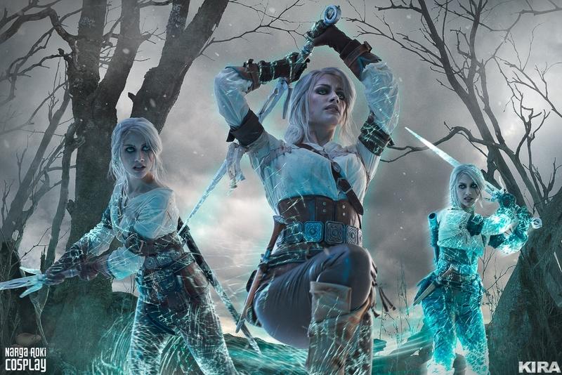 Косплей на Цири из The Witcher 3: Wild Hunt. Косплеер: Narga. Фотограф: Кира Митенкова. Источник: vk.com/kmitenkova_photoarts