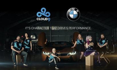 Cloud9 объявила о сотрудничестве с BMW