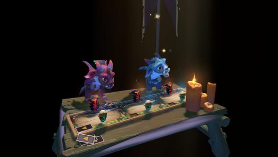 Из-под фонтанов в Dota 2 убрали столы для Artifact