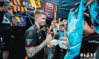Device стал самым ценным игроком BLAST Pro Series São Paulo 2019