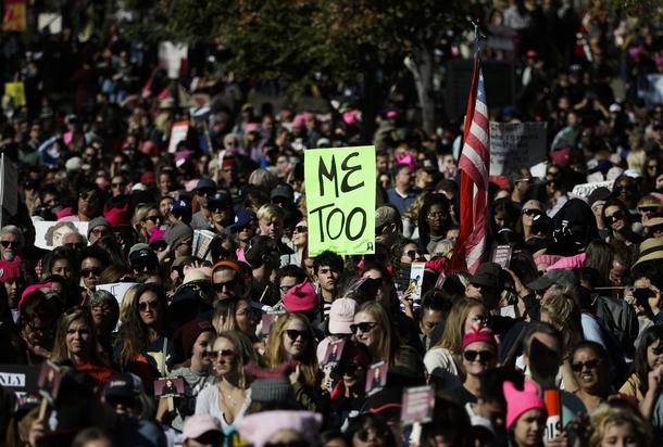 Марш против сексуального насилия в Лос-Анджелесе. Источник: Associated Press