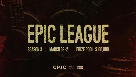 Epic Esports Events анонсировала третий сезон EPIC League