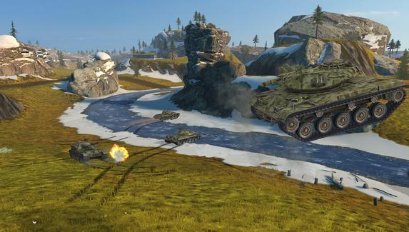 В World of Tanks Blitz добавили режим «Гравитация» ко Дню космонавтики
