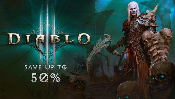 DiabloIII со скидкой 50% — в магазине Blizzard началась распродажа