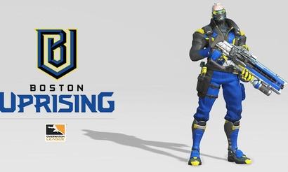 Франшиза Бостона в OWL представила название и скин команды