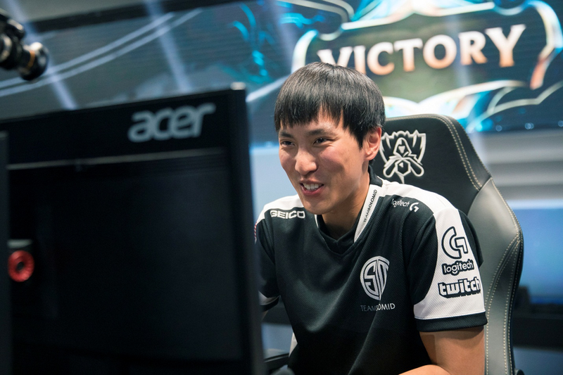 Doublelift Peng rejoined TSM after a Spring hiatus. He will look to carry TSM to another championship in the Summer Split. / Riot Games