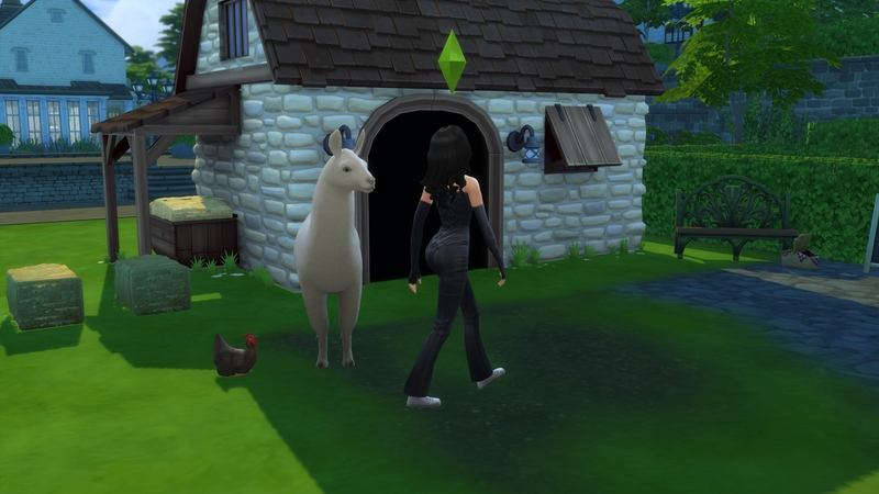 Почти единорог, если вы понимаете, о чем я   The Sims 4, «Загородная жизнь»