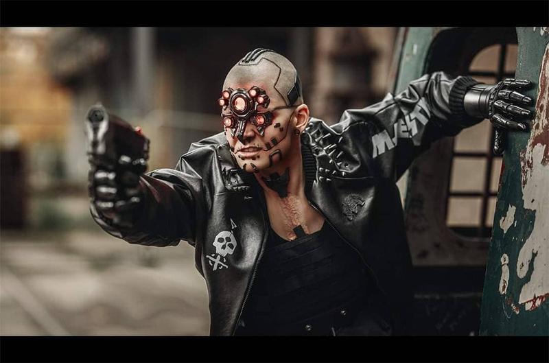 Лучший косплей по Cyberpunk 2077 по версии CD Projekt RED. Модель: Tingilya Cosplay. Источник: instagram.com/tingilya.cosplay