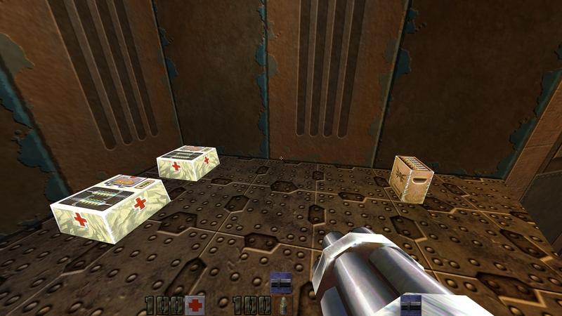 Quake 2 Neural Upscale | Источник: github.com