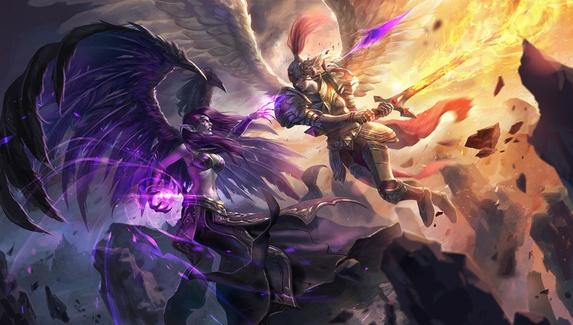 «Падшая» и «Праведница». Riot Games обновила истории Morgana и Kayle в League of Legends
