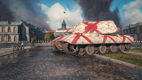 Снегурочки и ковровый камуфляж — что получат игроки в World of Tanks на Новый год