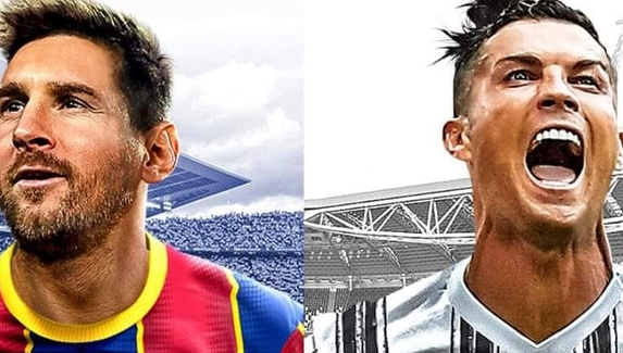 Роналду и Месси попали на обложку PES 2021