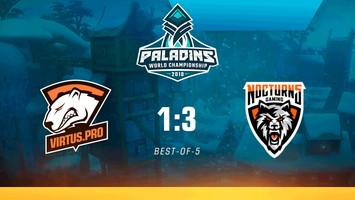 Virtus.pro finishes its Paladins World Championship run
