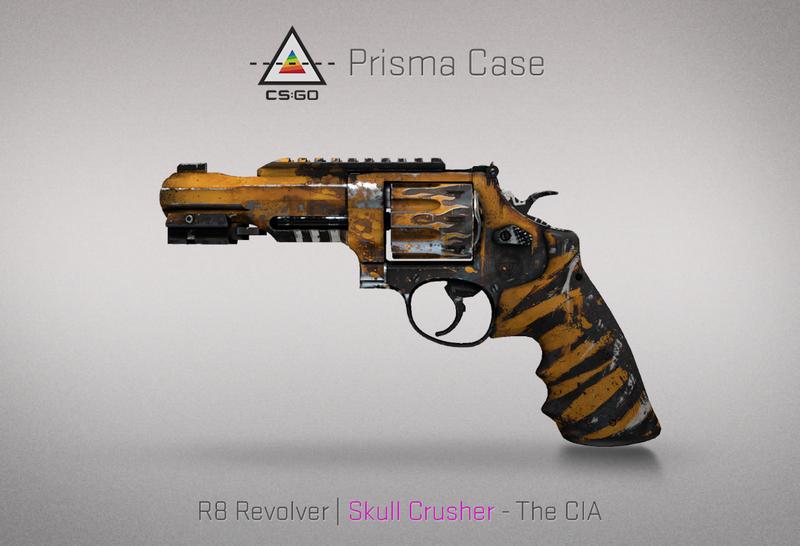 Prisma R8 Revolver