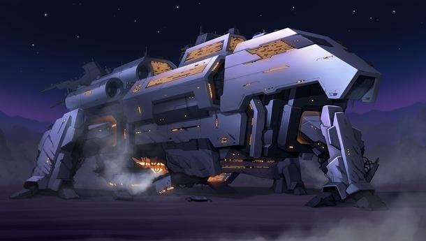 """Корабль """"Solaris"""", служит центральным хабом, где игрок занимается микроменеджментом отряда. Здесь он собирает отряд бойцов, которые отправятся на очередную вылазку."""
