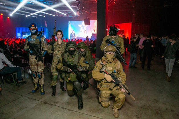 Косплей на Warface Open Cup 14
