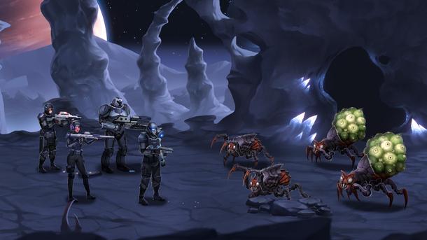 Пошаговые бои напоминают о классических пошаговых JRPG, Disciples 2 и Darkest Dungeon.