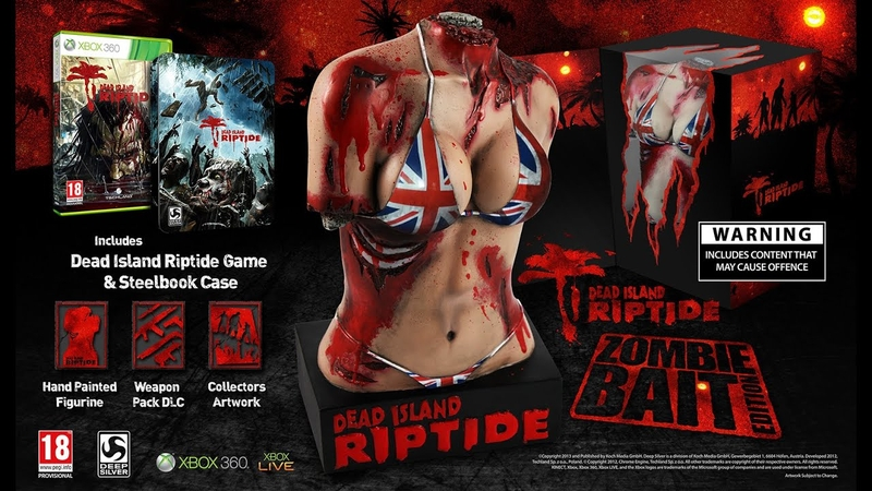 Dead Island: Riptide The Zombie Bait Edition