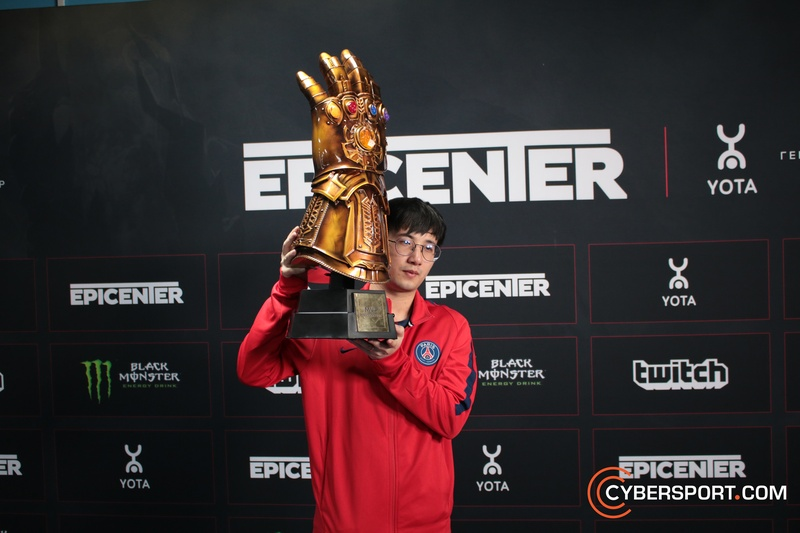 Fy with the MVP award