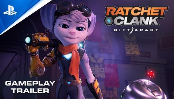 Вышел новый геймплейный трейлер Ratchet & Clank: Rift Apart