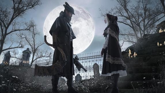 Охотник и куколка — мрачный косплей с героями Bloodborne