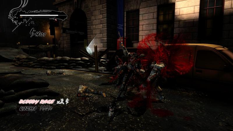 Скриншот из Ninja Gaiden 3: Razor's Edge