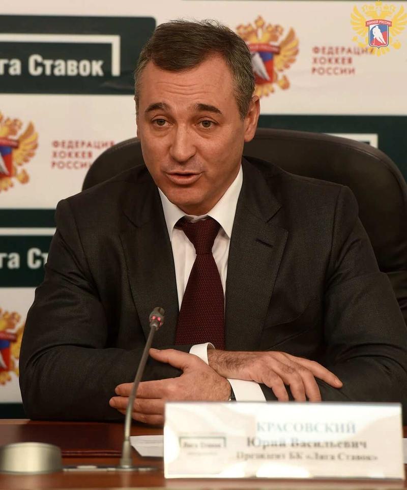 Юрий Красовский, президент «Лиги Ставок»