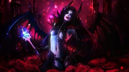Queen of Pain: мета, лор, статистика, фан-факты и контрпики в патче 7.24b