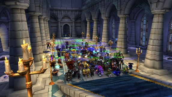 Фанаты World of Warcraft провели в игре акции в память о Reckful