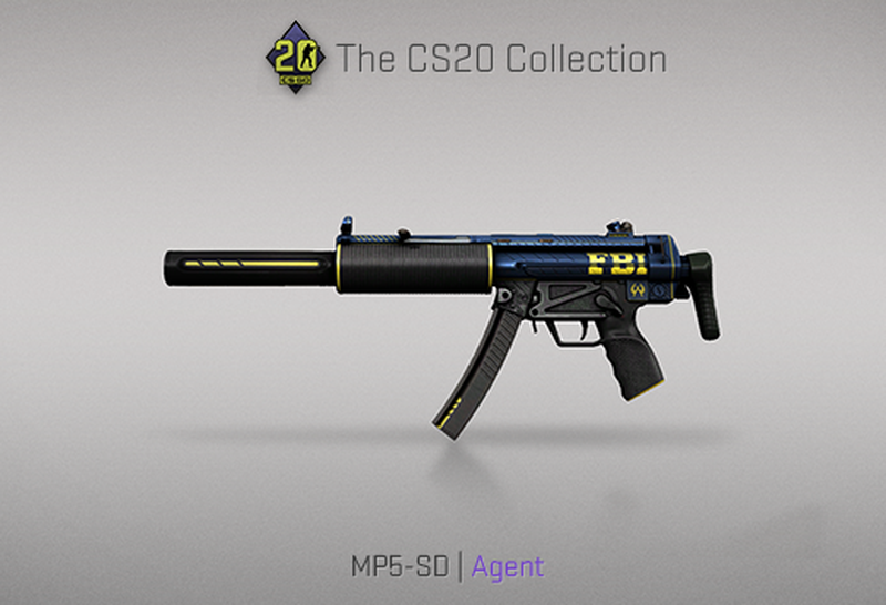 Скин на MP5-SD | Источник: blog.counter-strike.net