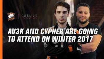 Av3k and Cypher will perform on DreamHack Winter 2017