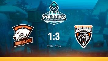 Virtus.pro покидает чемпионат мира по Paladins